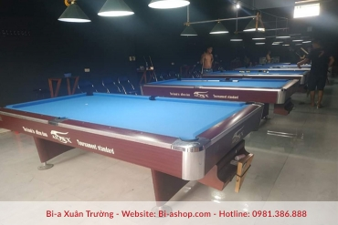 Lắp đặt 6 bàn aileex 9018s super cho clb macau club địa chỉ: mi điền - tp bắc giang