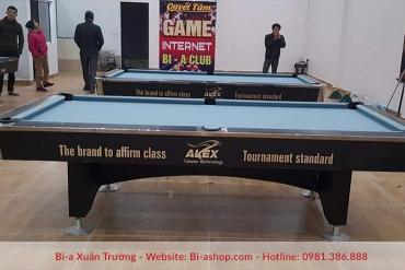 Lắp đặt 3 bàn ALEX 9018 special billiards cho clb bi-a - internet QUYẾT TÂM địa chỉ: đồng sép - bắc ninh