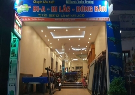 Địa chỉ mua bàn bi-a, bida, bi lắc uy tín tại Hưng Yên