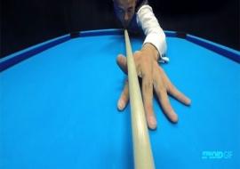 Học chơi bida-Bạn nghĩ gì khi đặt cơ xuống bàn?