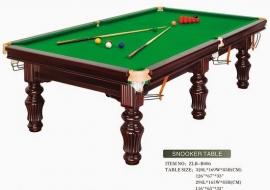 Những quy định về thiết bị đối với bida snooker