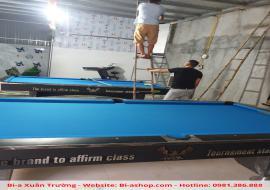 Bàn giao thành công 2 bàn Alex 9018 nội địa cho anh Tiến tại Tam Điệp, Ninh Bình