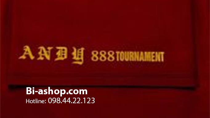 Nỉ Andy 888 Tournament Màu Đỏ