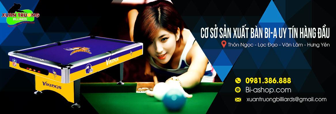Bàn bi-a Xuân Trương | Xuân Trường Billiards